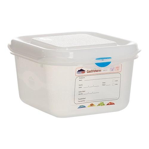 Voedseldoos Hermeticos gastronorm 1 6 hg 10cm haccp vaatwasmachinebestendig