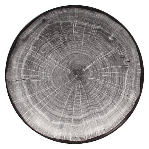 Coupebord diep diam 26cm Beech Grey grijs Woodart Rak Porcelain