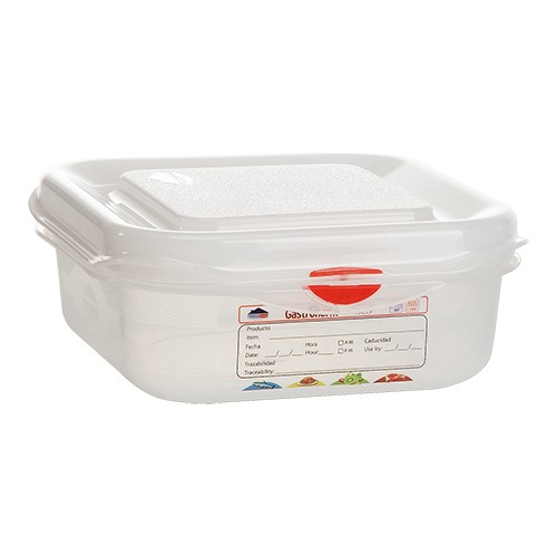 Voedseldoos Hermeticos gastronorm 1 6 hg 6,5cm haccp vaatwasmachinebestendig