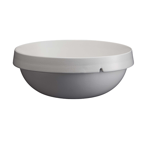 Schaal rond diam 30.5cm inh 5ltr wit Blanc Platre Welcome Emile Henry