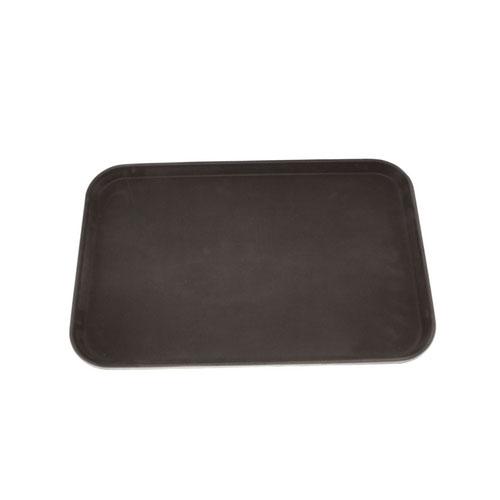 dienblad kunststof anti slip zwart rechthoekig 60x40cm