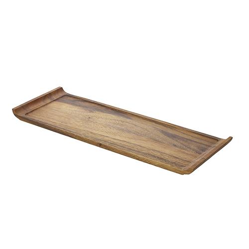 Acacia plank langwerpig handvat 46x17x2cm WSP4617