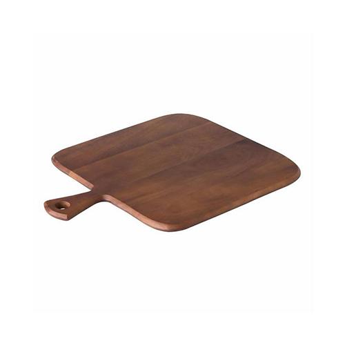 Acacia rechthoekig pizzaplateau Foccaciaplank handvat CB3004