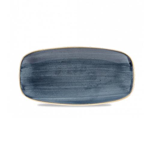 bord rechthoekig 35x18 5cm churchill stonecast blueberry SBBSXO141
