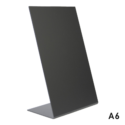 Tafekrijtbord L board securit A6 set 3 stuks acryl