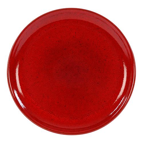 coupebord 27cm kaito stoneware blossom red
