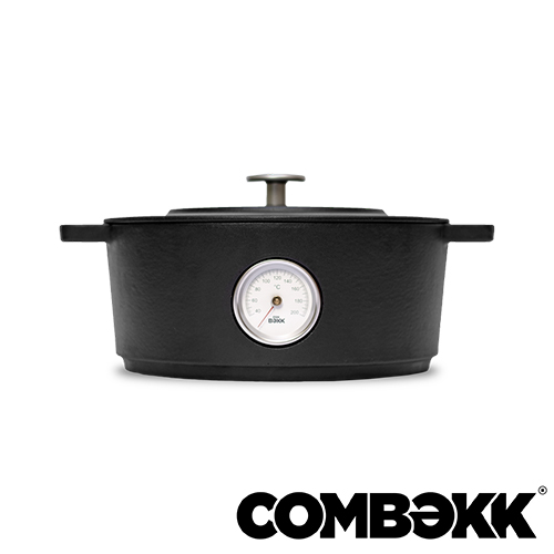 Comebekk Dutch Oven thermometer Dark Grey braadpan 24cm antracietgrijs 100124DG