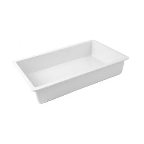 Inzetschaal Chunky Crock wit Dalebrook 16x26cm TPO5312