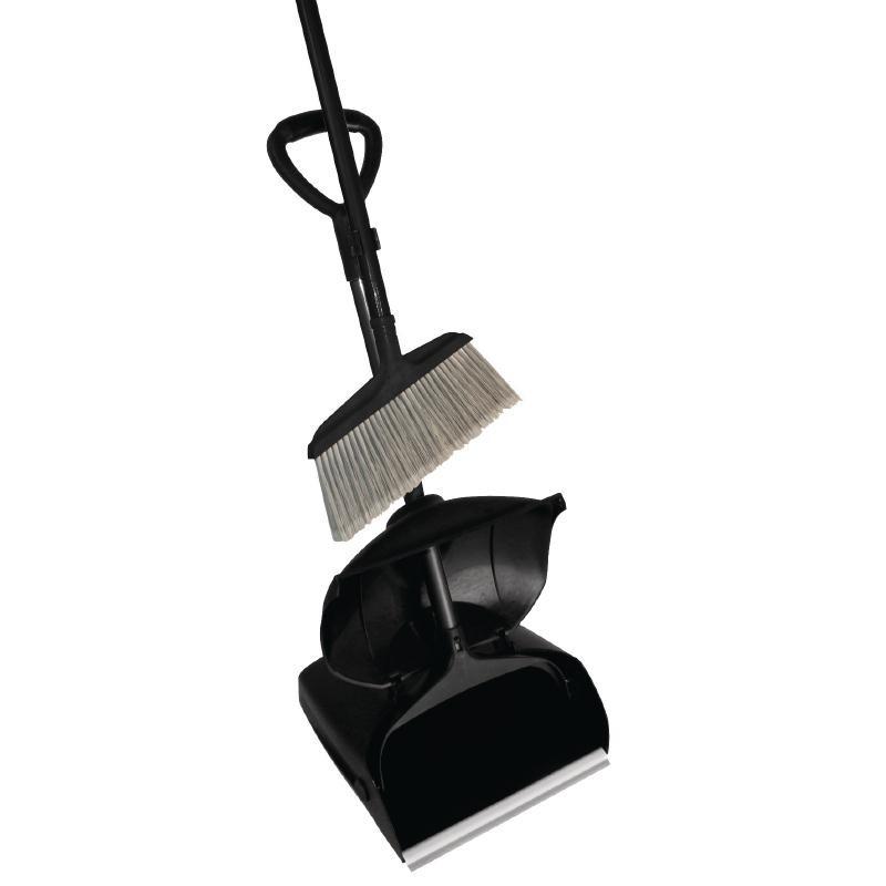 Veger opvangbak zwart kunststog