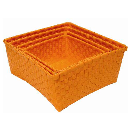 Broodmand fruitmand handedby oranje