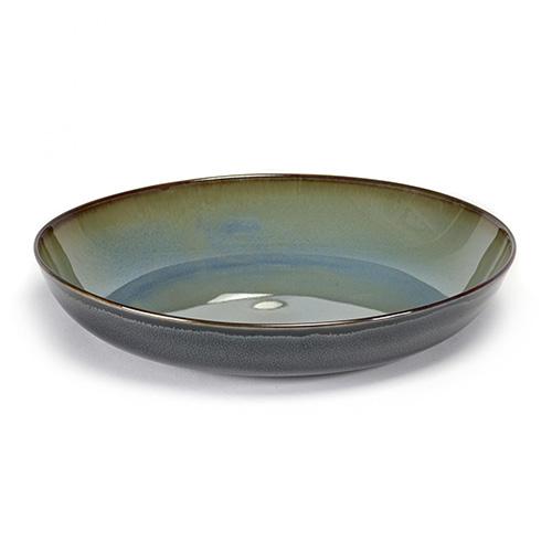 serveerschaal pastabord 23 5cm kleur blue grey dark blue servies terres de reves serax