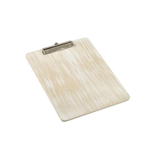 Menu rekening klembord afm A4 hout whitewash