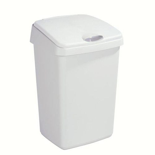 afvalbak met klep 25l sunware