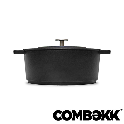 Combekk Dutch Oven Dark Grey braadpan 24cm antracietgrijs 100224DG