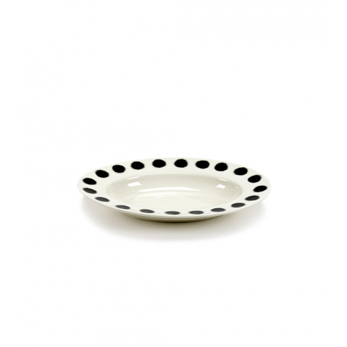 Schaal s dots pasta ovaal afm 31x21cm SERAX Pasta Pasta Paola Navone