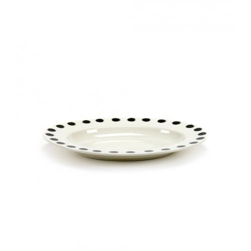 Schaal m dots pasta ovaal afm 42x29cm SERAX Pasta Pasta Paola Navone