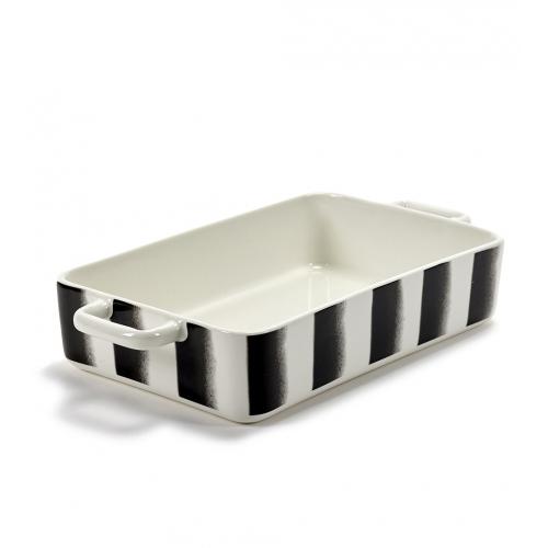 Ovenschaal lines pasta afm 37.5x20cm SERAX Pasta Pasta Paola Navone