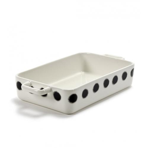 Ovenschaal dots pasta afm 37.5x20cm SERAX Pasta Pasta Paola Navone