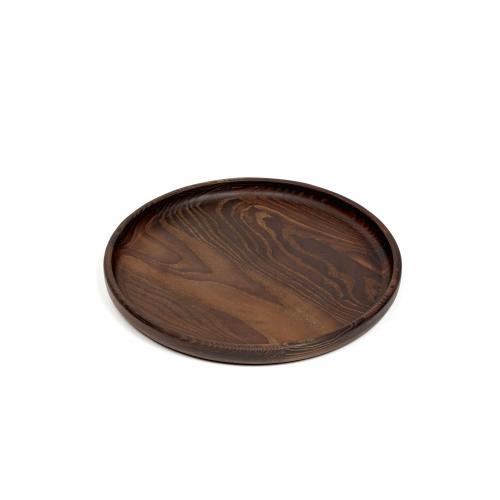 Dienblad hout rond diam 29cm SERAX PURE Pascale Naessens