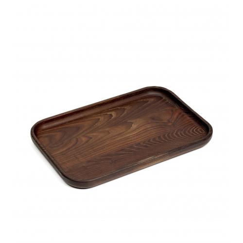 Dienblad hout rechthoekig afm 36x24cm SERAX PURE Pascale Naessens