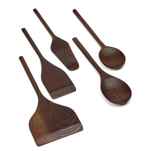 Keukengerei set 5 delig hout SERAX PURE Pascale Naessens