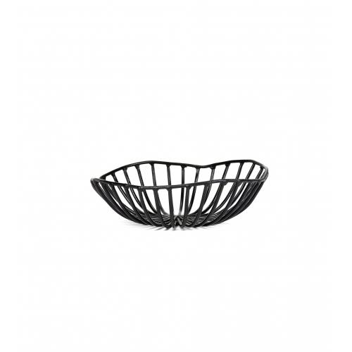 Broodmandje CATU diam 15cm zwart SERAX Metal Sculptures Antonino Sciortino