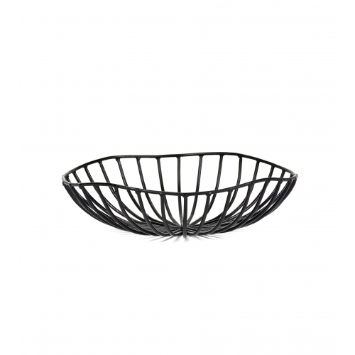 Broodmandje CATU diam 20cm zwart SERAX Metal Sculptures Antonino Sciortino