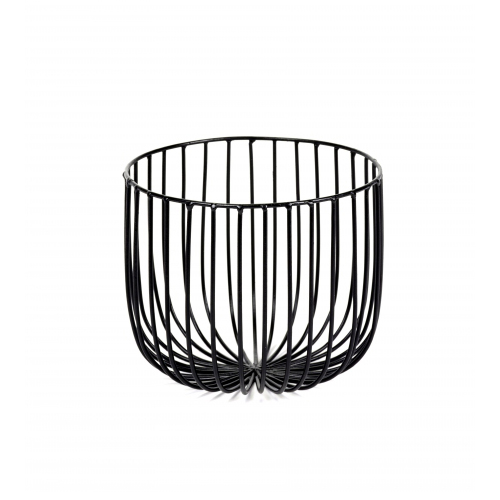 Mand CATU diam 18cm zwart SERAX Metal Sculptures Antonino Sciortino