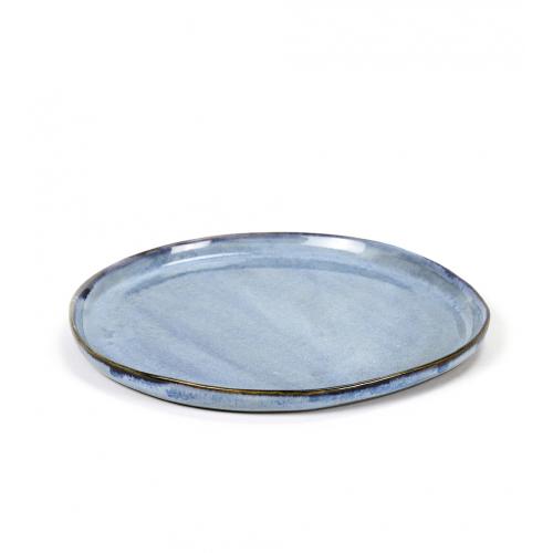 Bord S rond diam 19cm Blue SERAX Terres De Reves Anita Le Grelle