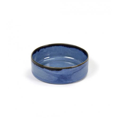 Kom S cylinder laag diam 7.5cm Blue SERAX Terres De Reves Anita Le Grelle