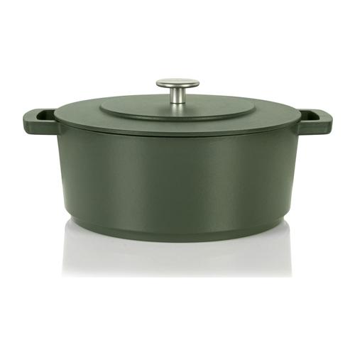 braadpan 28cm groen combekk