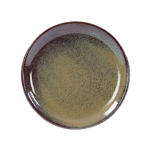coupebord 19cm kaito stoneware forest green