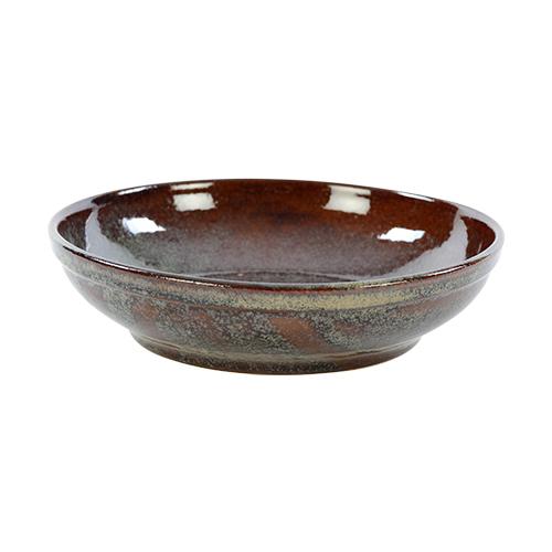 saladeschaal 23cm kaito stoneware forest green