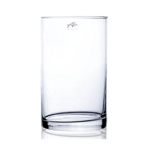 vaas glas cilinder groot