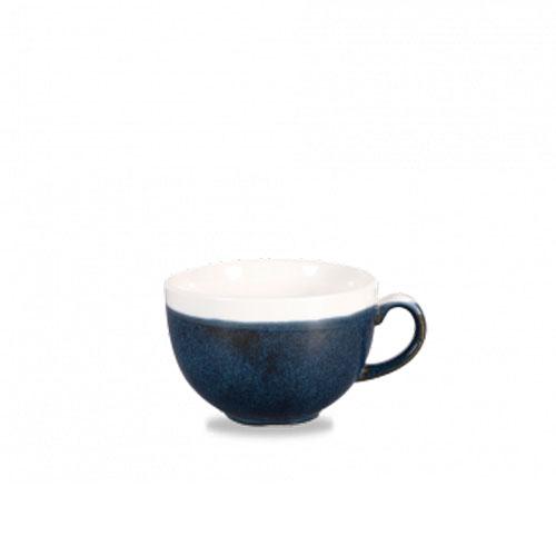 monochrome churchill cappuccinokop blue