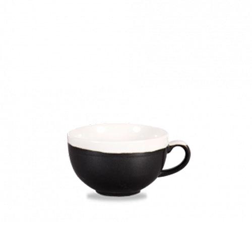 monochrome churchill cappuccinokop zwart