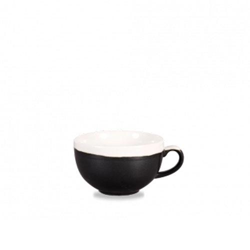 monochrome churchill koffiekop zwart