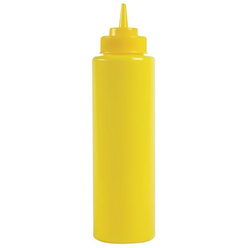 Sausdispenser knijpflacon kunststof geel