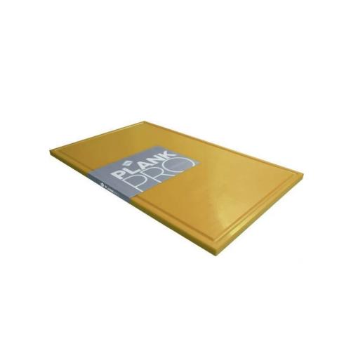 snijplank geel met geul haccp gevogelte kunststof