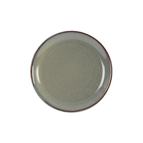 coupebord 16cm kaito stoneware slate silk