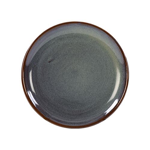 coupebord 19cm kaito stoneware slate silk