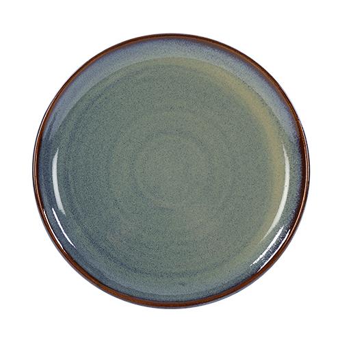 coupebord 22cm kaito stoneware slate silk