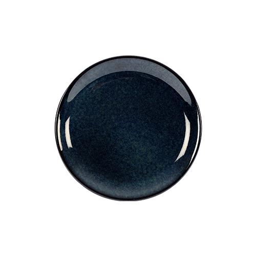 coupebord 16cm kaito stoneware indigo blue