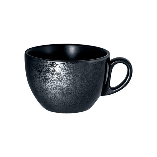 Koffiekop inh 20cl Carbon Zwart Karbon Rak Porcelain