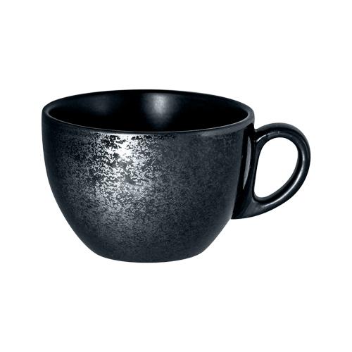 Koffiekop inh 23cl Carbon Zwart Karbon Rak Porcelain