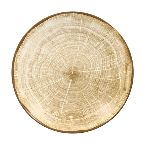 Coupebord diep diam 23cm Moss Green groen Woodart Rak Porcelain
