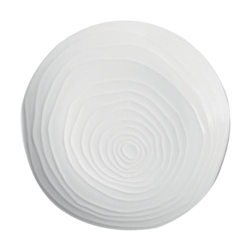 Bord diam 28 cm white wit Pillivuyt Teck