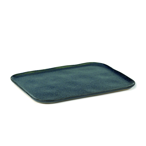 Bord 1xl 32cm 23cm blue grey SERAX la nouvelle table MERCI