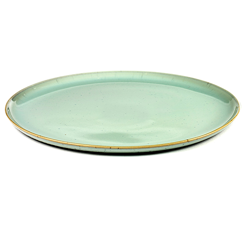 bord l 26cm kleur light blue servies terres de reves serax