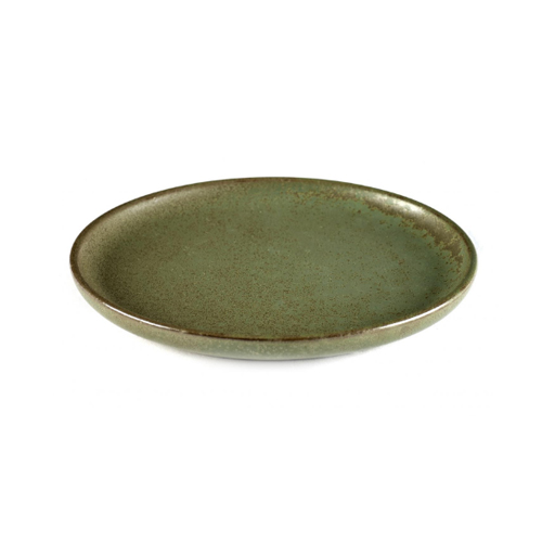 bord rond 16cm camo green surface by sergio herman serax